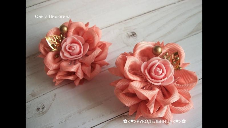 Нежные резиночки цветок Камелии