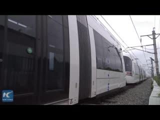 Китай тестирует взрывоустойчивые поезда для Израиля
