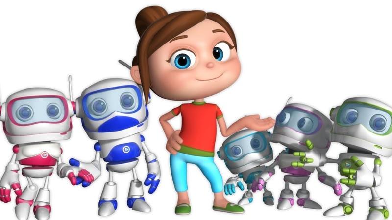 Robot Finger Family Single Rhyme Finger Family Song Nursery Rhymes Kids Songs
