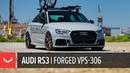 Audi RS3   Vossen Forged VPS-306 Wheels   Cali Wheels