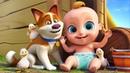 Sonidos de los animales Canciones infantiles y dibujos animados en español para niños con Sunnyside