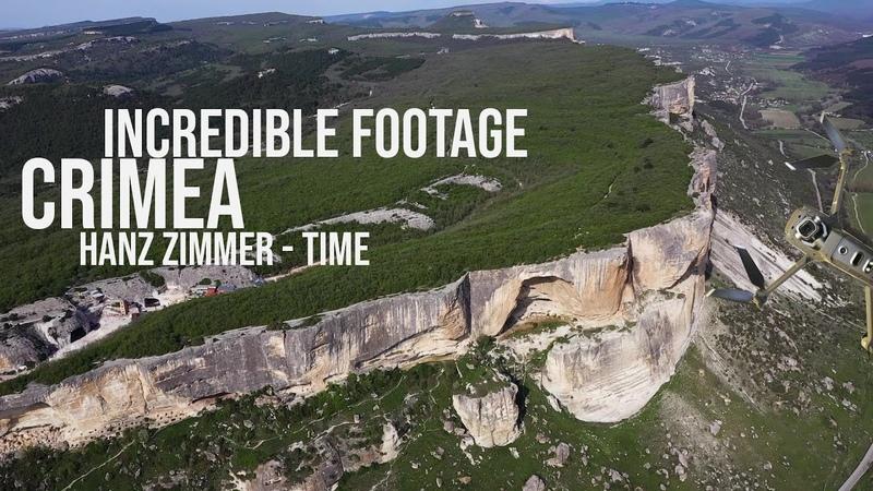 Incredible footage from CRIMEA Hanz Zimmer Music Невероятные кадры из Крыма