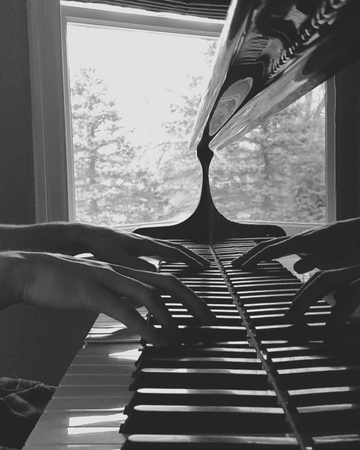 """ERIC CHRISTIAN on Instagram: """"My newest piece Nocturne en C """"L' Égyptien"""" releases tomorrow on @spotify and @applemusic 🖤🎶 Can you name this piece?..."""