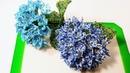 Гортензия Hydrangea из бисера от Виктории Koshka2015 цветы из бисера бисероплетение DIY