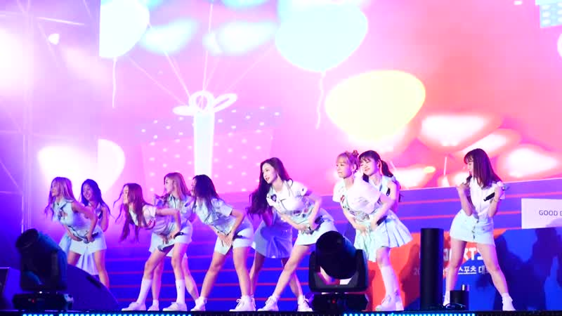 190705 Cherry Bullet - Really Really @ Gangwon Peace Concert