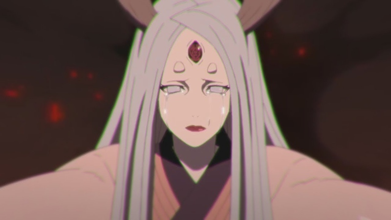 Хагоромо пробуждает Шаринган и Риннеган Хамура против Кагуи Ооцуцуки
