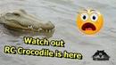 Remote Control Alligator Prank RC Crocodile RC Gator RC boat
