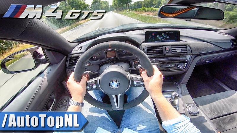 BMW M4 GTS F82 500HP | LOUD! POV Test Drive by AutoTopNL