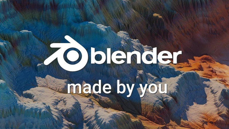 Blender Reel - SIGGRAPH 2019 - Made by you