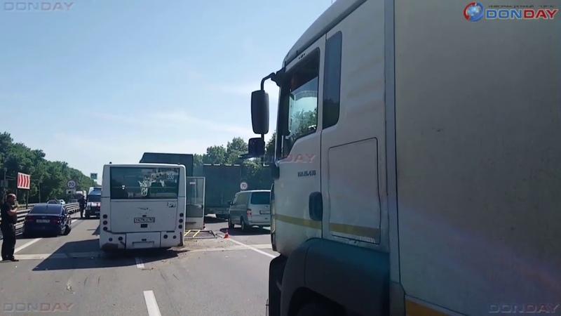 Donday В ДТП на трассе с автобусом из Новочеркасска пострад