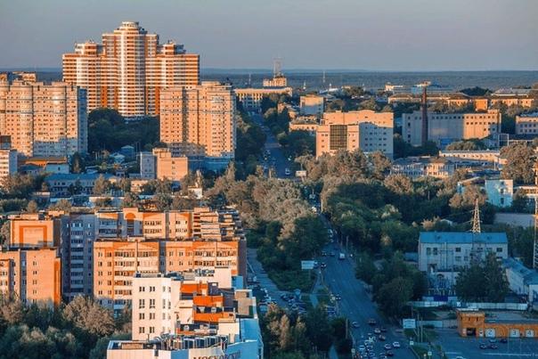 Улица Московская с высоты  pattern43