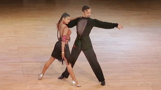 Alexander Chernositov - Arina Grishanina, USA   Assen 2017 - WDC AL LAT - R5 C