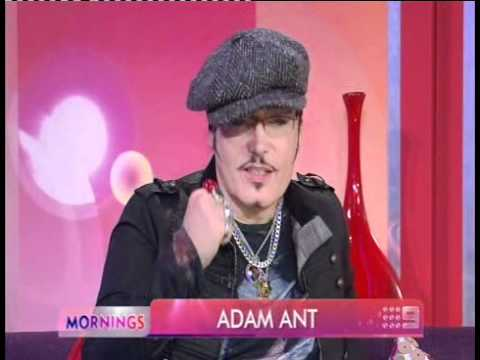 Adam Ant on Mornings