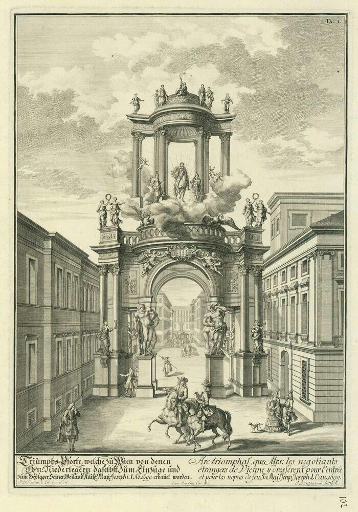 Иоганн Бернхард Фишер фон Эрлах. Венская арка.....***********Портал работает))