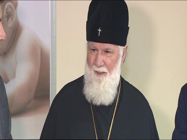 Архиепископ Ярославский и Ростовский Вадим посетил областной перинатальный центр