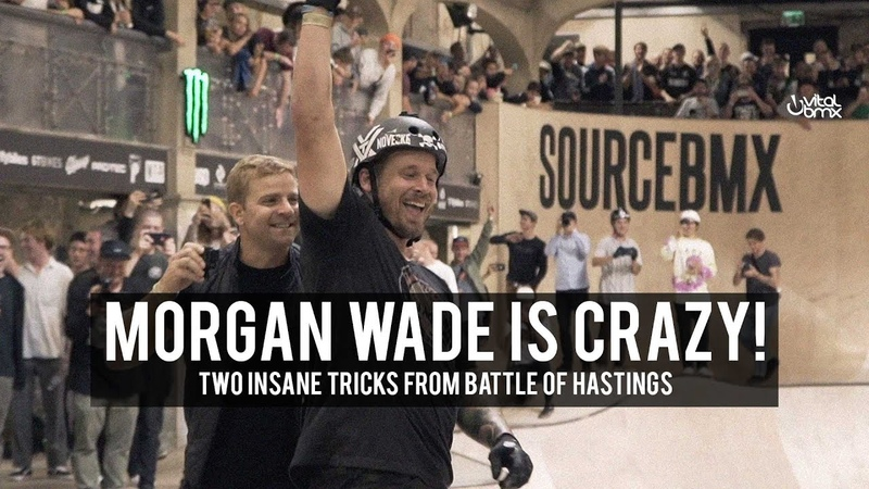 MORGAN WADE IS CRAZY! insidebmx