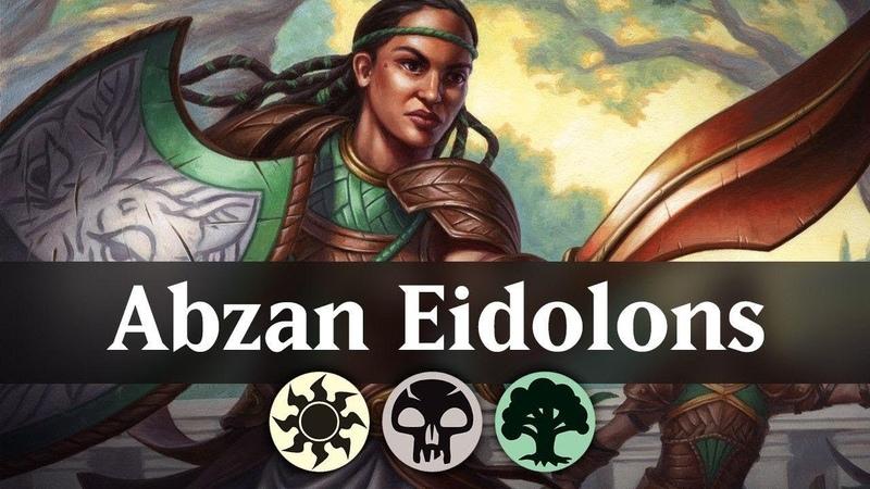Abzan Eidolons Theros Beyond Death Standard Deck Guide MTG Arena