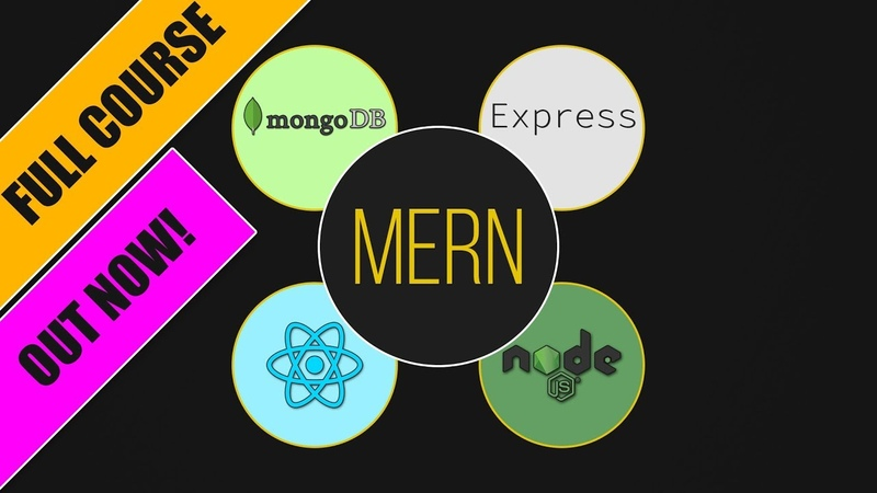 New Course! MERN - The Fullstack Guide with React, Node, Express MongoDB
