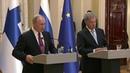 Проблемы безопасности идругие глобальные темы обсуждали Владимир Путин иСаули Ниинисте Новости Первый канал