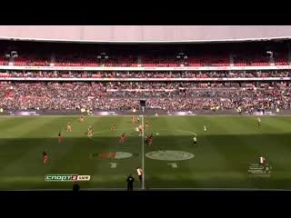 Чемпионат Голландии 2013-14. 26-й тур Фейеноорд - Аякс