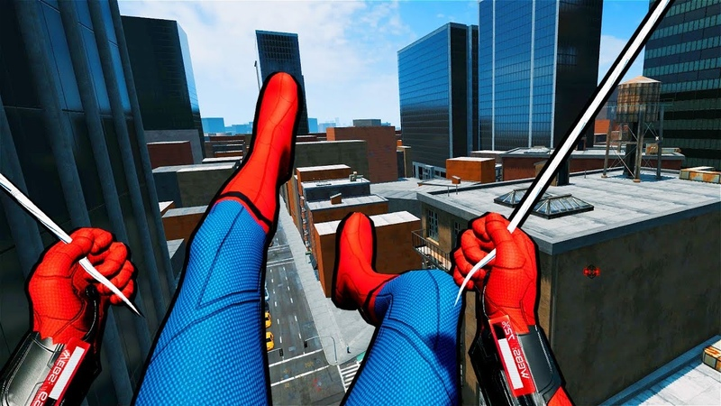 Official VR Spider-Man Game Is Hilarious Surreal!