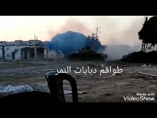 Tiger forces battle-tank shots on enemy movements in tel hawash in rural hama in the past days