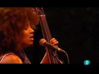 Esperanza Spalding. Festival de jazz de San Sebastian (18-08-09).mp4