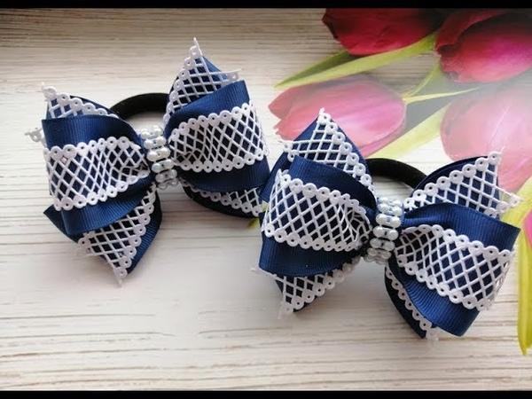 Простые школьные бантики МК КАнзаши Simple school bows Simples escolares fitas