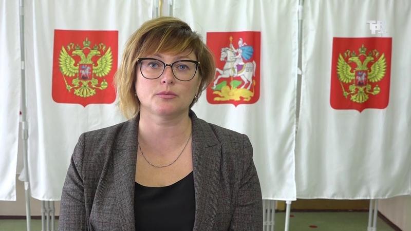 Выборы 2019. Обращение Главы г.о. Краснознаменск