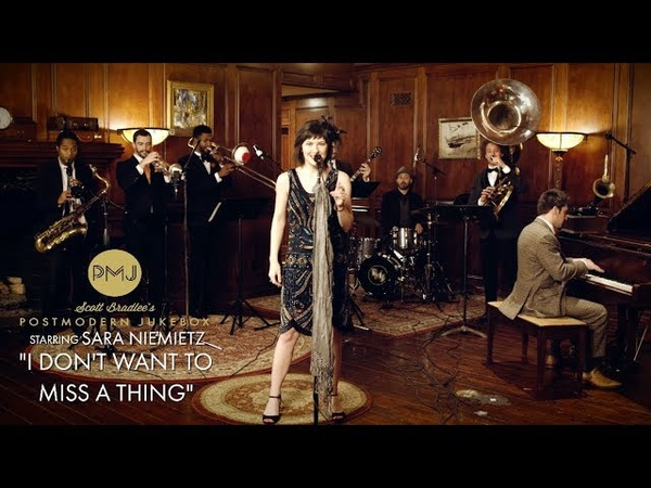 Sara Niemietz I Don't Want To Miss A Thing Aerosmith 1920s Brass Band Cover