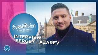 Sergey Lazarev (Russia 🇷🇺): 'Don't look at the bookmakers!' - Eurovision 2019