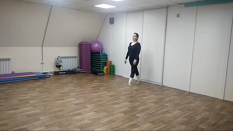 Студия восточного танца Джамиля связка для начинающих
