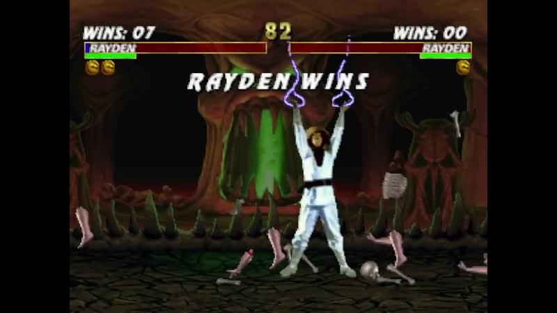 Mortal Kombat Trilogy.Fatality