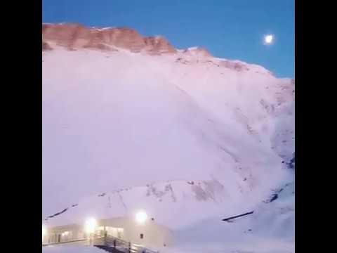 Рассвет в туркомплексе Шира Бена-Юрт | декабрь 2019, туризм в Чечне