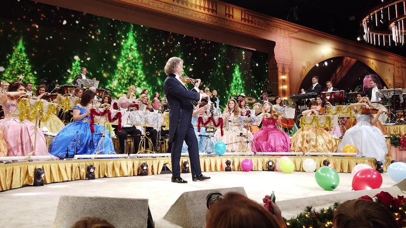 Silentnight with Andre Rieu at Maastricht MECC December 21st 2019