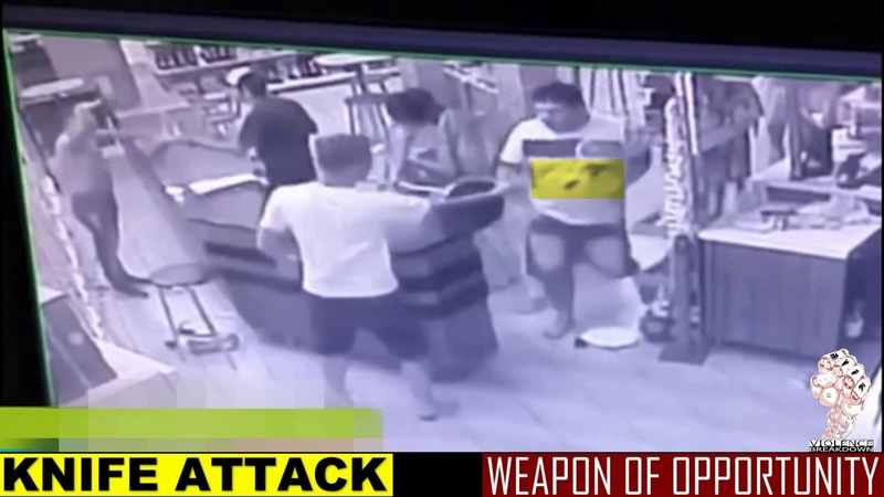 Weapon deployment during fight | weapon of opportunity | Real Violence For Knowledge Verborgen