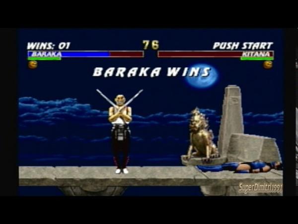 Mortal Kombat Trilogy-Baraka Arcade Ladder