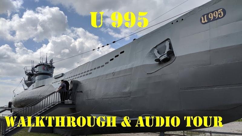 German WWII Submarine Walkthrough Tour- The U995 - Type VIIC/41