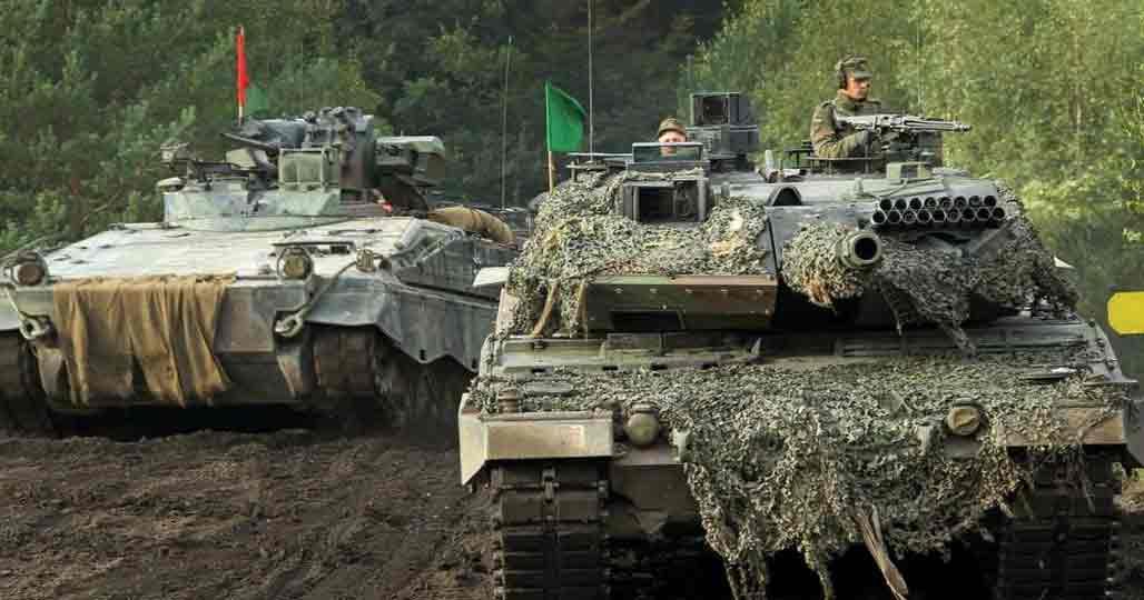 Танки немецкой армии
