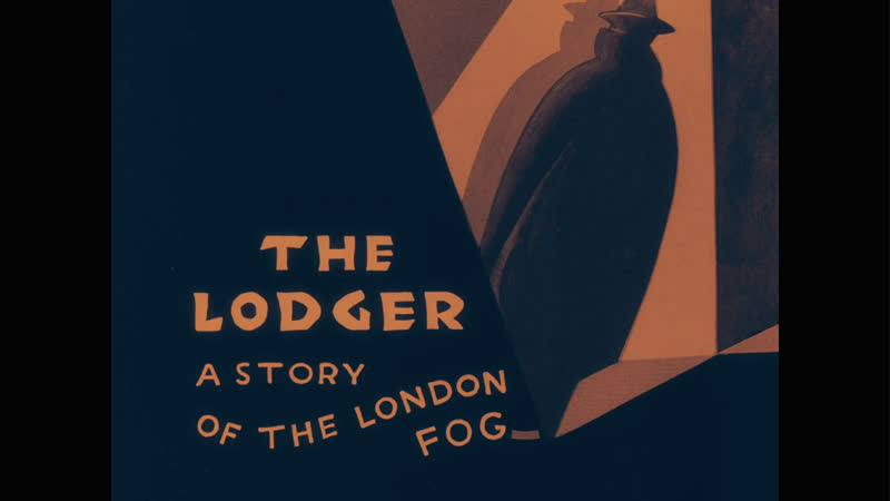 Жилец The Lodger A Story of the London Fog 1927 dir Alfred Hitchcock silent without translation