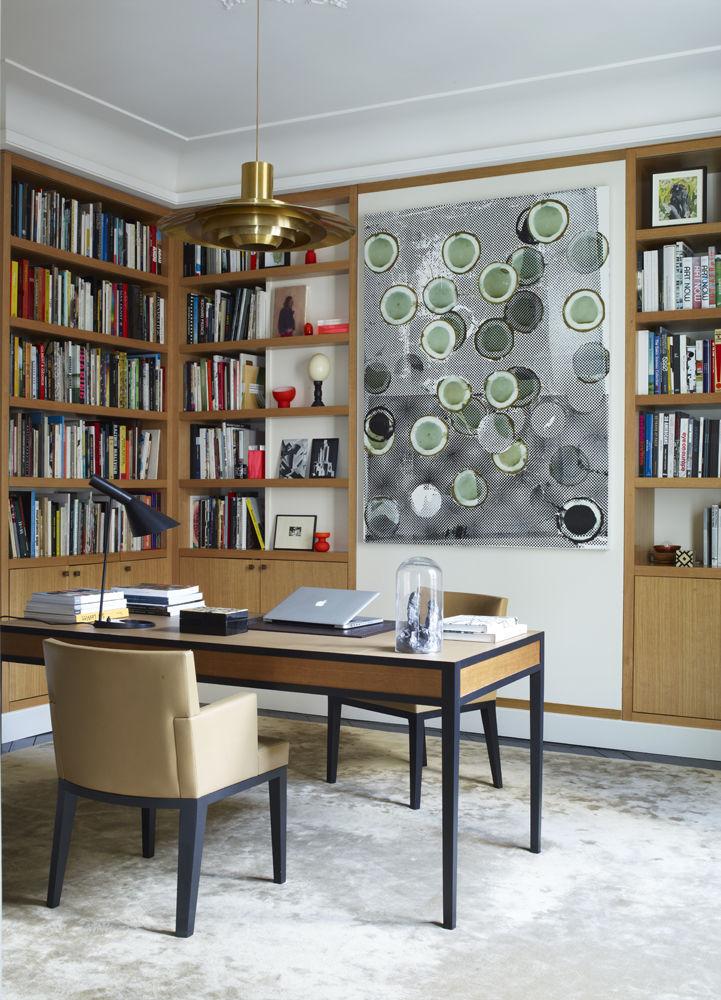 Интерьер парижской квартиры от Келли Вильде и Лоран Шампо