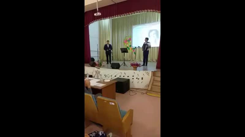 Илдус Харрясов Исен сау бул эни баянда Ринат Яруллин