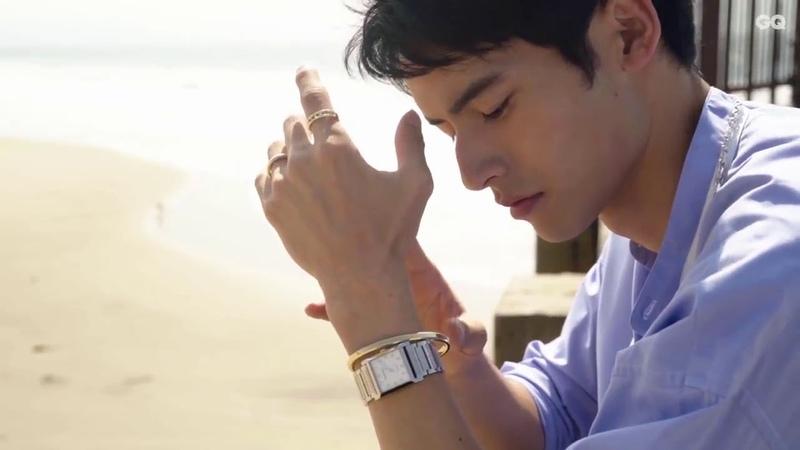 GQ Japan x Tiffany Co. Kenshi Okada Fashion Film 'Men's World of Essentials'