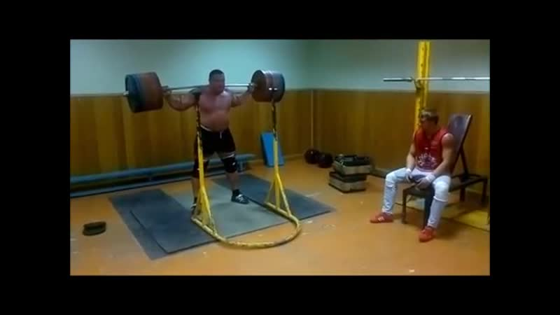 Squat with pause 292,5 kg _ 643,5 lb