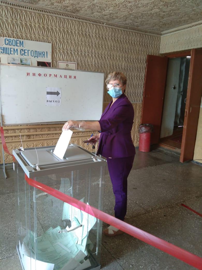 Голосование в Бурлинском районе