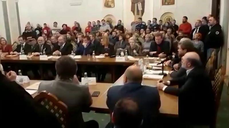 Речь министра Чеченской республики Джамбулата Умарова на расширенном заседании бюро Всемирного Русск
