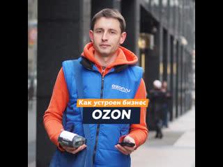 Как устроен бизнес OZON