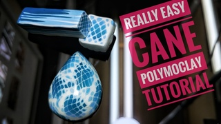 Really easy sea cane polymer clay tutorial _ 정말쉬운 바다 만들기 폴리머클레이 강좌