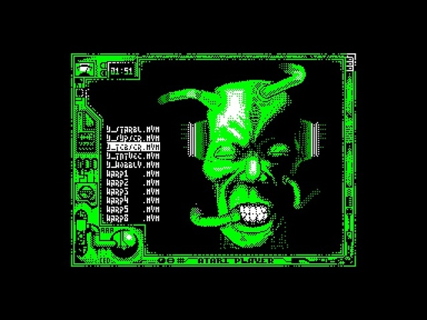 Atari Player Disk 9 (musicdisk) - AAABand Group [zx spectrum AY Music Demo]