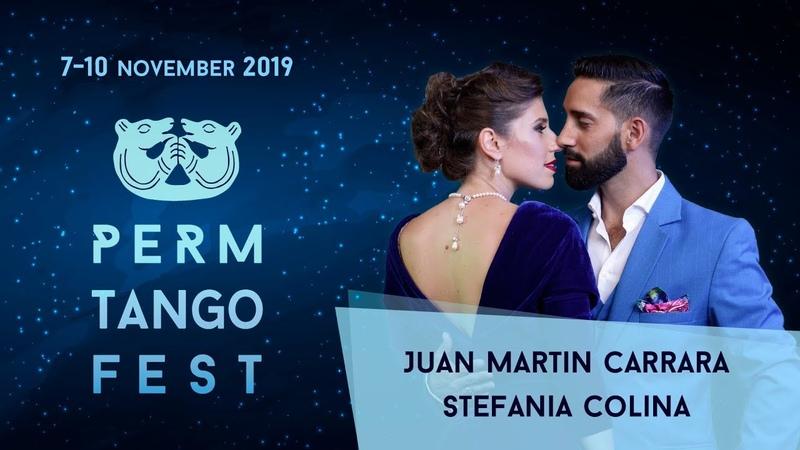 Juan Martin Carrara Stefania Colina, 2-4, PermTangoFest-2019